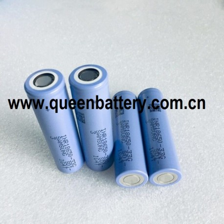 Samsung 33G sdi 18650 10A 3300mAh INR18650-33G 3.7V Battery cell