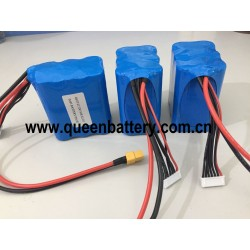 21.6V 22V 22.2V RC drone 21700 battery pack samsung 50E INR21700-50E 5000mAh with 25cm XT60 with 10cm JST balancer cable