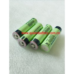 PANASONIC NCR18650B 18650B 3400mah 3.6V with button top (BT)