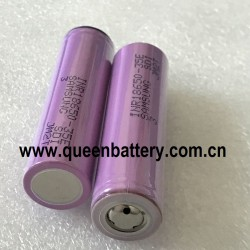 Samsung 18650 35E 35ET INR18650-35E 3.6V 3500mah with button top(BT) no protection(pcb)
