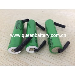 LG INR18650MJ1 18650 1S1P  MJ1 3350mAh 3500mah 3.7V 3.6V with U/Z tabs(0.15x5mm)w/tabs