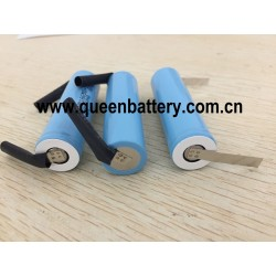 1S1P SAMSUNG 18650 INR18650-15M 15MM 1500mAh 3.7V 25A battery cell with U/Z tabs(TB)U tabs