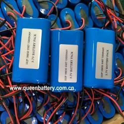 1S2P 3.7v GPS navigator handheld POS machine battery pack with 3mos PCB/PCM( 5A)18650 samsung 35e lg mj1 sanyo ga 7000mAh