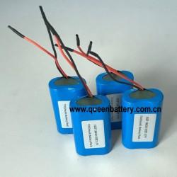 3.7V 1S2P 18650 QB18650 samsung35e 35et lg mj1 SANYO GA 7000mah 4.2v 3.6v LED light bluetooth headlamp medical equipment battery