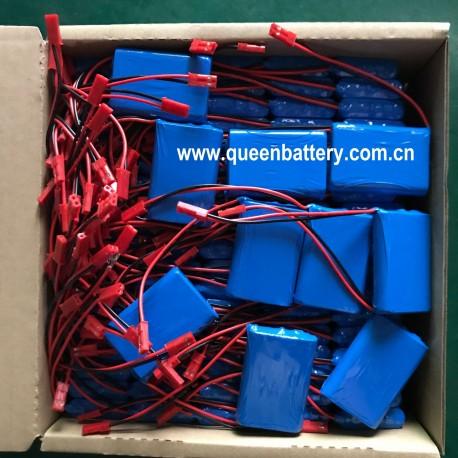3.7V 103450 QB103450 GPS nevigator beauty instrument battery 1s1p 2000mah 1800mah panasonic ncr103450 NCR103450A