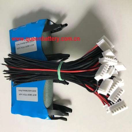4S1P SONY 18650 VTC6 C6 US18650VTC6 14.4V 14.8V 3000mAh battery pack