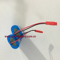 18650 1S2P SAMSUNG 35E 35ET LG MJ1 SANYO GA 3.6V 3.7V 7000mAh battery pack with PCB 5A with 22awg JST connector