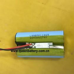 18650 INR1860 NCR18650 MH1 LG INR18650MH1 panasonic NCR18650BD BD 2S1P 7.4V 8.4V 3200mAh battery pack