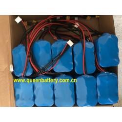 10.8V 12V 12.6V 3S2P  SANYO 20700 NCR20700B 8500mAh 20700B battery pack 20cm 24AWG power lead inclusive XT30  20cm JST