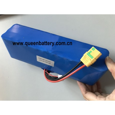 18650 samsung 30Q 6s6p 21.6V 22V 22.2V 18AH INR18650-30Q UAV drone battery pack with anti-spark XT90 with JST balancer cable
