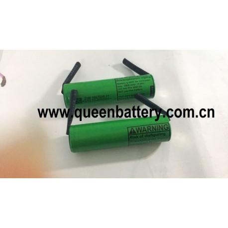 18650 3500mAh 3.6V 3.7V 4.2V li-ion battery LG MJ1 SAMSUNG 35E 35ET panasonic sanyo GA NCR18650GA with U tabs