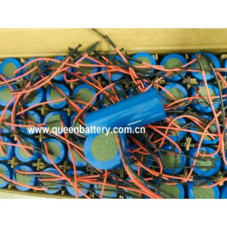 QB26650 3.6V QB 26650 li-ion led lighting battery pack 1s1p 3.7v 5000mah with PCB/PCM 5A (4MOS)with lead wire 10cm
