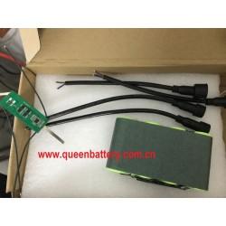 12V 13.2V 12.8V 4S1P LIFePO4 32700 QB32700 6000mAh Solar street lamp energy storage backup power supply BATTERY PACK with PCB 5A