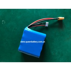 18650 SONY VTC6 US18650VTC6 LG HG2 SAMSUNG 30Q BATTERY PACK 14.4V 14.8V 4S2P 6000mAh with XT60 with jst-xh connector