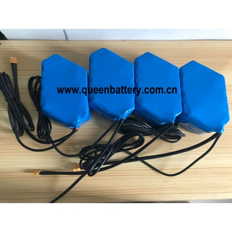 52V10AH 14S2P 21700 SAMSUNG 50E LG M50T battery pack with BMS 20A with DC 5.5X2.1 with XT60 connector