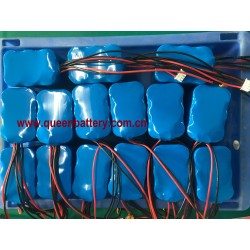SANYO 20700 NCR20700B 8.5AH 8500mAh with 20cm 20AWG XT30 and 15cm 22awg JST balancer cable