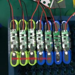 3s1p 11.1v 10.8v 18650 boston power 5300mah rechargeable battery for emergency lighting camping lamp