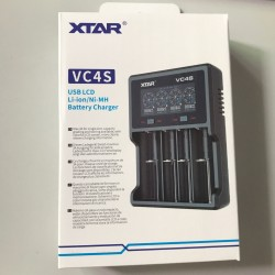 XTAR VC4S 18650  QC3.0 Fast Charging Micro USB Input USB Charger for li-ion INR ICR IMR AAA AA 18650 26650 20700 21700 BATTERY