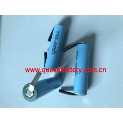 1S1P 18650 LI-ION rechargeable lithium battery SAMSUNG 15M INR18650-15MM 1500mAh 25A high drain cell with tabs
