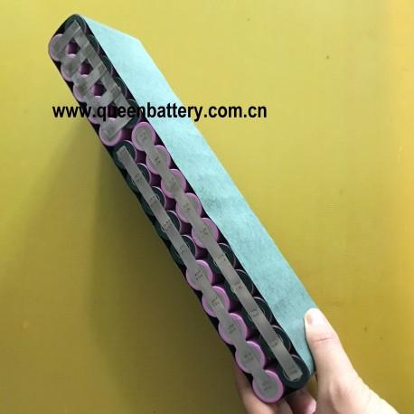 18650 6s5p 21.6v 22.2v 17AH 17.5AH 22V samsung 35E LG MJ1 panasonic GA sanyo GA battery pack with 12cm 14awg XT60  JST balancer