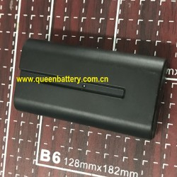 Sony NP-F550 F550 digital camera battery 18650 2s1p 7.2v 3500mah 3400mah NCR18650B 35E MJ1
