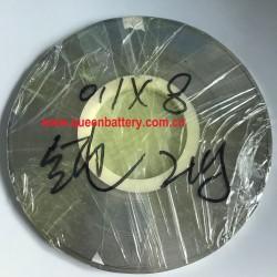 li-ion lifepo4 n-mh ni-cd AAA AA A 14500 10440 18650 21700 26650 26800 32650 32700 battery pure nickel belt nickel strip 0.1x8mm