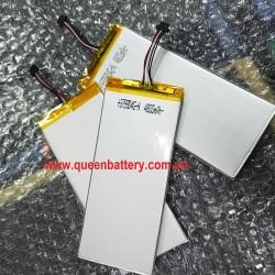 1S1P battery pack LI-PO LI-POLYMER 375904 4800mAh rechargeable tablet battery 3.7V