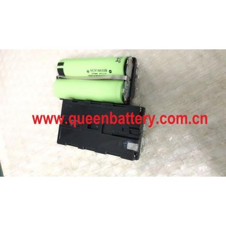 digital camera Sony NP-F550 F550 battery 18650 2s1p 7.4V  3400mah NCR18650B NCR18650GA 35E MJ13500mAh