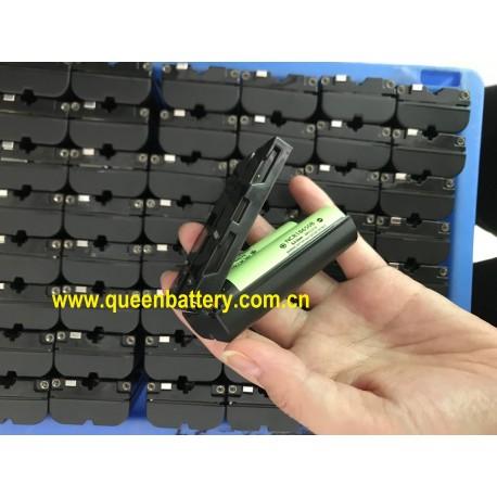 Sony NP-F550 F550 QB18650 3000mAh 7.2V 7.4V 2s1p panasonic NCR18650B 3400mah rechargeable battery pack