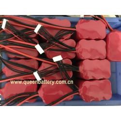 6S1P 21.6V 22V 22.2V UAV RC drone 21700 battery pack samsung 50E LG M50 M50T INR21700-50E 5000mAh w/25cm XT60 w/ 10cm JST