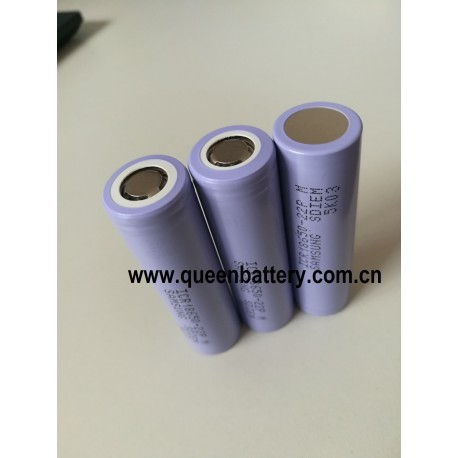 Samsung 22P 18650 INR18650-22P 2200mAh 10A li-ion rechargeable battery cell 3.7V