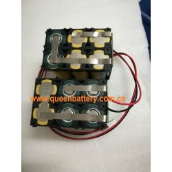 11.1V 12V 10.8V audio equipment LED street lamp  rechargeable battery pack 3s2p 26650 QB26650 5000mAh w/PCB w/PCM 15A