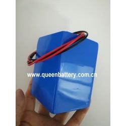 11.1V 10.8V 10AH 12V 3S2P 26650 QB26650 traffic signs portable small household appliance solar street lights led lamps battery