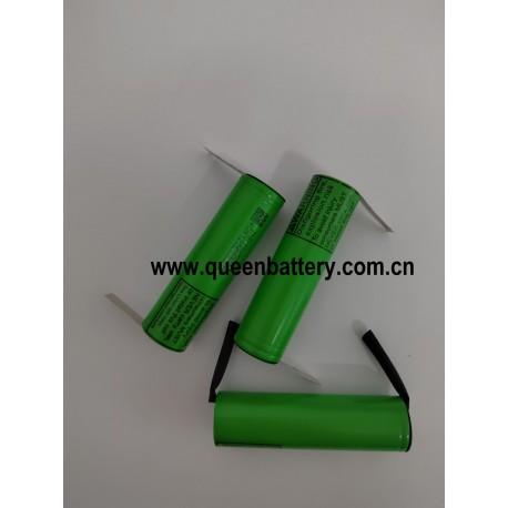 18650 LED light  battery LG MJ1 INR18650MJ1 QB18650 3350mAh 3.6V 3.7V 3500mah SAMSUNG 35E panasonic GA sanyo GA w/tabs