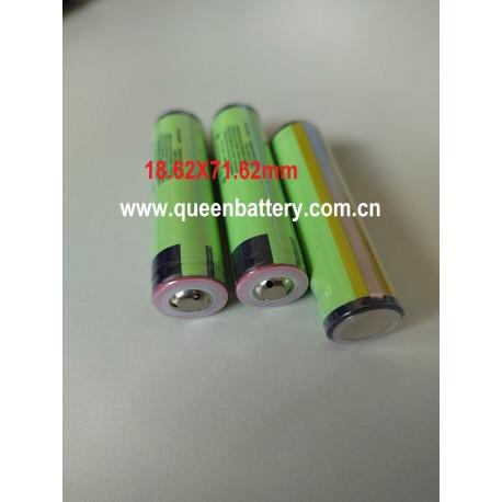 PANASONIC 18650 GA BATTERY 3500mAh NCR18650GA 18650GA 3.6V with button top with protected (with PCB)