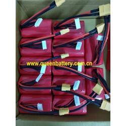 MOLICEL 21700 6S1P P42A INR21700-P42A 4200mAh 21.6V 22.2V battery pack 10cm 12AWG XT60 with 6cm JST balancer