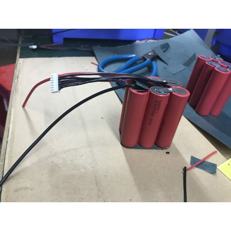 6S1P SANY0 NCR20700B 22.2V 20700 4250mAh battery pack