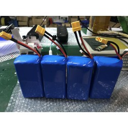 6S4P 18650 BATTERY PACK 22.2V12AH with XT90 Spark and 2.54-7 balance cables