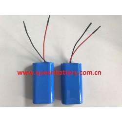 2s1p 18650 samsung battery cell 7.4v 2600mah with pcb