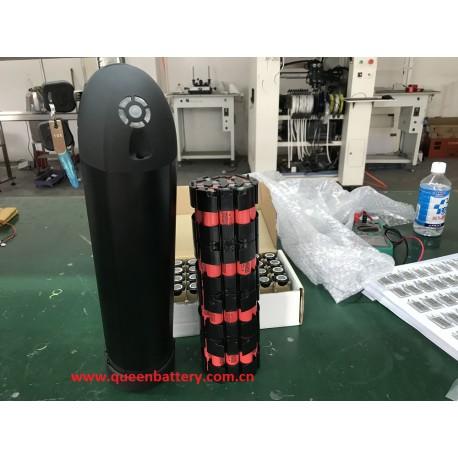 14s4p 52v 51.8v14ah sanyo ga water bottle stype battery pack