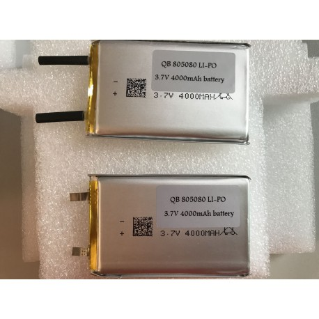 QB 805080 LI-PO BATTERY CELL 4000mAh 3.7V