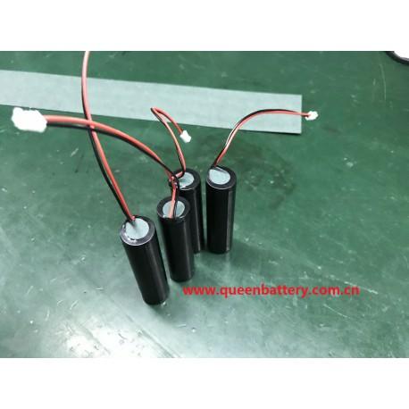 1s1p QB 18650 QB18650 2600mah battery pack with pcb 3.7v