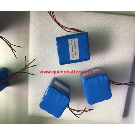 3S3P 18650 NCR18650B PANASONIC 10.8V 10200mAh 10.2Ah battery pack with PCB