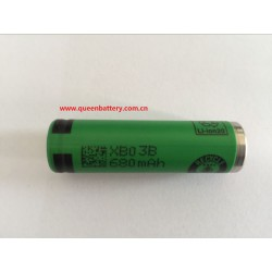 SONY AA 14500 US14500VR2 680mAh 3.7V battery cell
