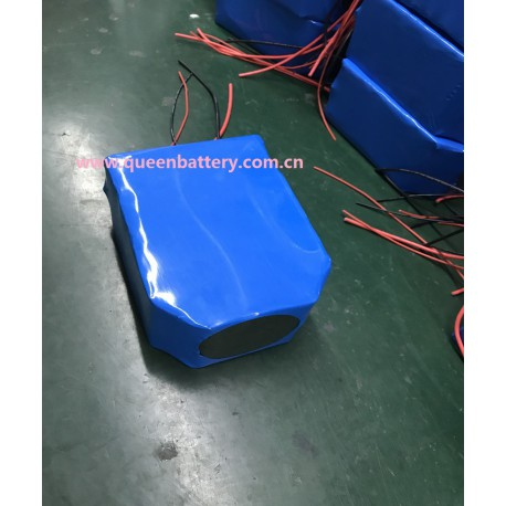18650 9S5P 33.3V 17AH li-ion battery pack with PCB