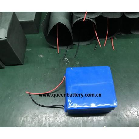 e-bike battery pack 18650 14s3p 52v14ah 51.8v14ah with BMS (20-40A)