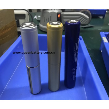 QB 26650 2S1P INR26650 QB26650 7.4V 5000mAh with PCB for flashlight
