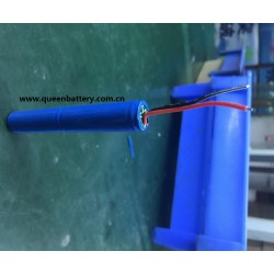 14500 sanyo 14500P 800mah UR14500P 2S1P 7.2V 7.4V battery pack with PCB(2-4A) with lead wires
