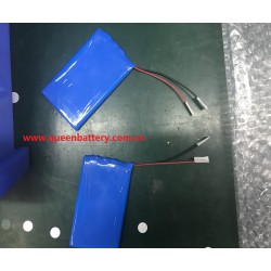 QB606069 606090 1s1p li-polymer battery cell 3.7V 4000mah with PCB(2-4A) with lead wire