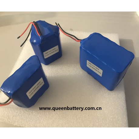 18650 3s5p 10.8v 11.1v 17Ah 17.5Ah lithium battery pack with pcb(6-12A)